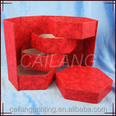 jewelry box earrings /necklace/watch paper box collection from china alibaba cusstomed