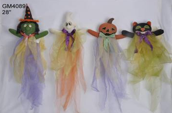 Fabric Halloween decoration
