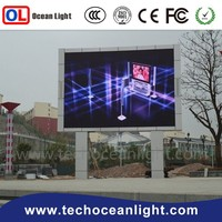 wholesale outdoor full color led signs commercial video film blue indonesia outdoor p10 led module display