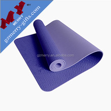 Biodegradable material 8mm tpe yoga mat / wholesale yoga mat