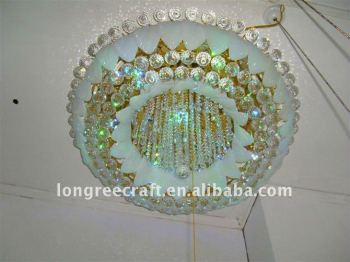 Fresh Crystal Ceiling Lamp for Home Decoration