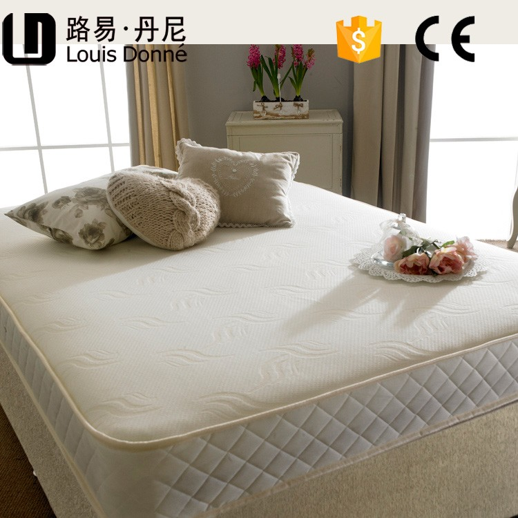 Five stars hotel villa concave mattress