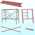 Snap-on Frame System Scaffolding for Construction