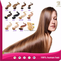 top quality grade 6a blonde cheap wholesale factory price Keratin Stick human hair remy cheap virgin nail/u tip hair extension