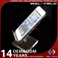 plastic cell phone Acrylic mobile phone display counter holder