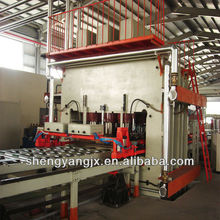 vacuum membrane hot press machine