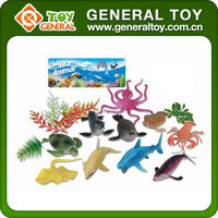 mini plastic toy animal,plastic animal figures,plastic toy forest animal