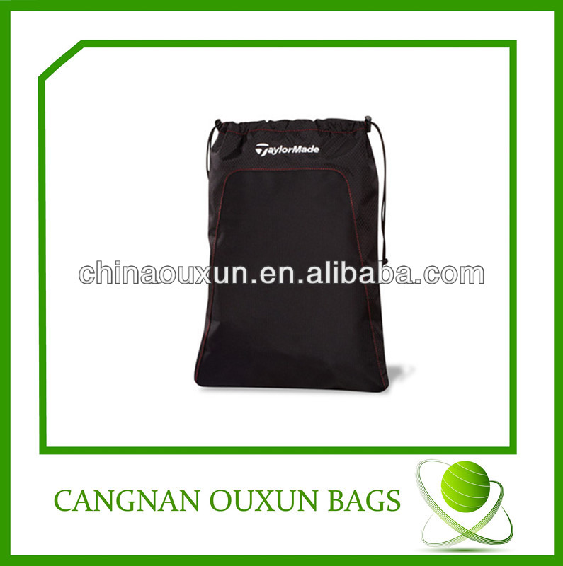 foldable nylon drawstring bag/travel bag