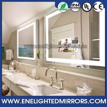High quality bathroom low price 22 inches wall mount smart mirror tv with high brightness