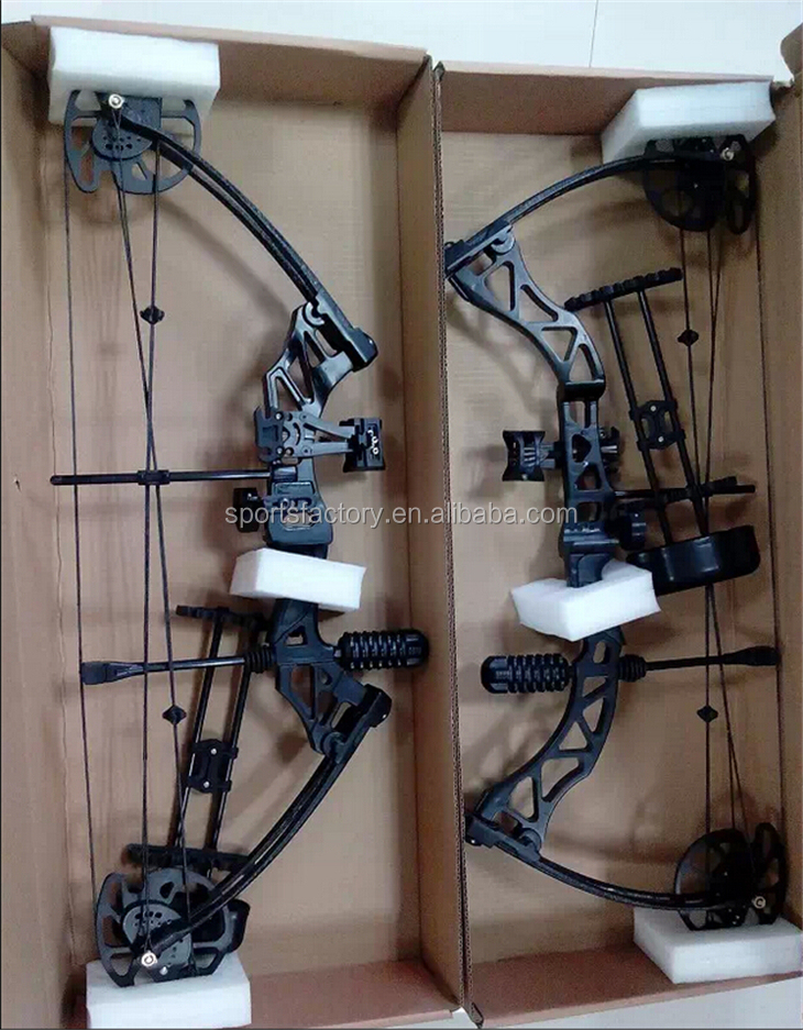 Compound bow 320 fts let off 80% archery bow hunting 35-70lbs