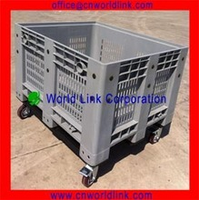 1000kgs Heavy Duty Stackable Plastic Forklift Storage Bin