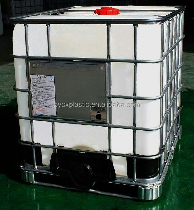 HEAVY DUTY DVRIGIN HDPE IBC TANK WITH COVER