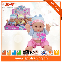 Lovely doll cheap small plastic toys
