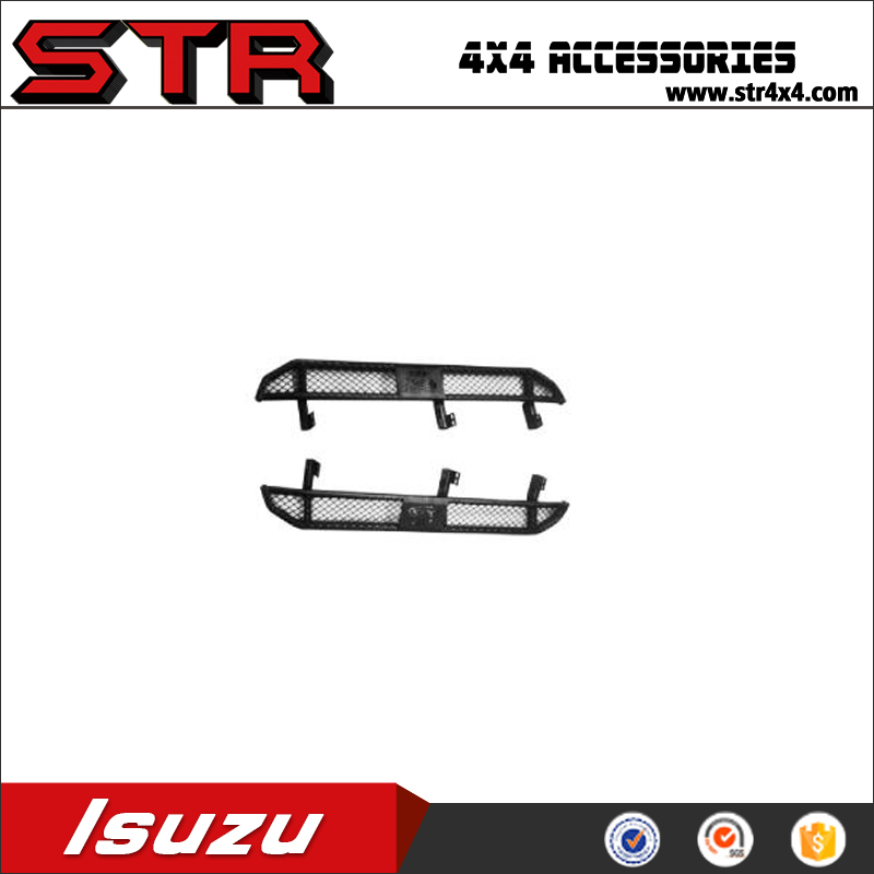 4WD Accessories High Quality Steel Side Steps Bumpers Bull Bars for ISUZUs D-MAX