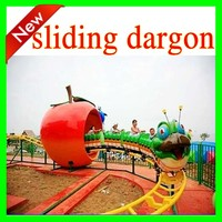 Factory price amusement equipment sliding east dragon
