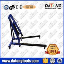 Small Hydraulic Shop Folding Steel 1Ton Crane Engine Hoist