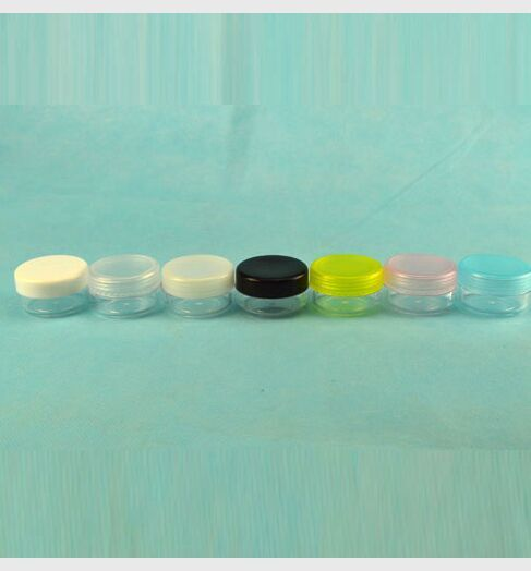 10g 10ml trial cream plastic PS jar with girl gifts