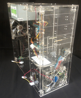 new design and launching model for acrylic real transparent computer case PC case