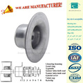 Chinese manufacturer high quality 100% guarantee conveyor roller parts bearing shell with flange