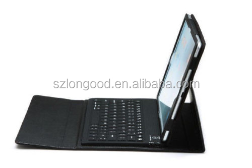 Leather Stand Case Cover With Wireless Bluetooth Keyboard For iPad Air 5