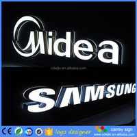 Most popular 3D acrylic number and mini letter business led sign letters