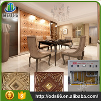 super special offers best sell 3d leather carved wall panel making machine
