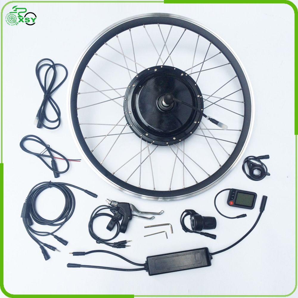 2017 most popular Brushless motor e bike kit for wholesale