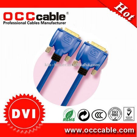 High speed hdmi to DVI-D cable 18+1 and 24+1