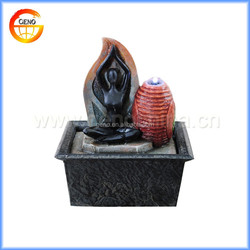 battery operated water fountain for indoor decoration