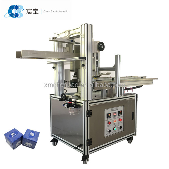 C60 Semi-automatic Hot Melt Glue Tissue Carton Box Sealing Machine