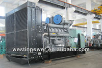 12 years factory experience mature technology used diesel generator for sale