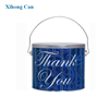 fancy high quality metal ice bucket for candy packaging