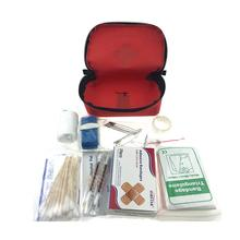 Auto Safety Kits First Aid Bag Contains Roadside Assistance Car Emergency Kit