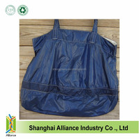 210D Navy Blue wholesale foldable lightweight reusable ripstop nylon shopping bags