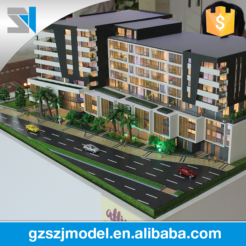 Skillful manufacturing Australia's apartment architectural modelling materials