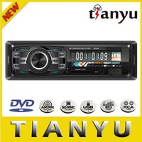 new 2014 one din detachable panel universal car DVD/CD player