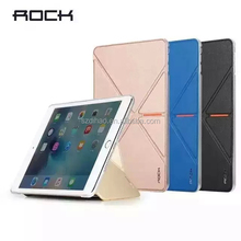 Rock brand Luxury Ultra Thin Leather Smart Stand Case Cover for iPad Mini 4 Case