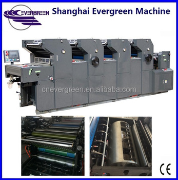 A3 A2 Made in China four color printer, Four color offset printing machine