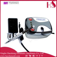 HS08-3AC-SK Professional Party and Show facial color painting airbrush compressor tool