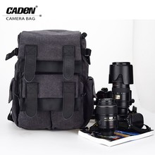 Free sample !!! caden waterproof canvas mountain top backpack camera bag