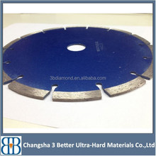 Changsha Laser Welded Wet Cutting 350mm Diamond Saw Blade Concrete