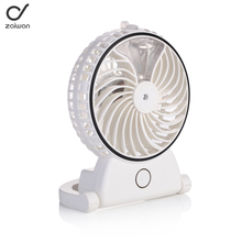 summer cute Portable mini usb spray fan with water for misting