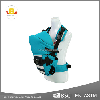 head protected baby carrier with EN13209 baby product