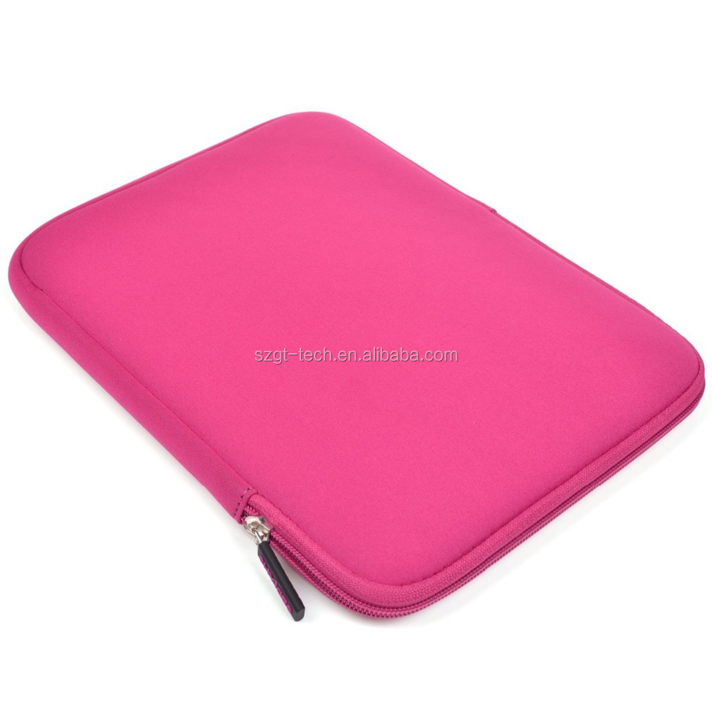 Neoprene Tablet Pad Zipper Case With Anti-Shock EVA Padding for iPad Pro