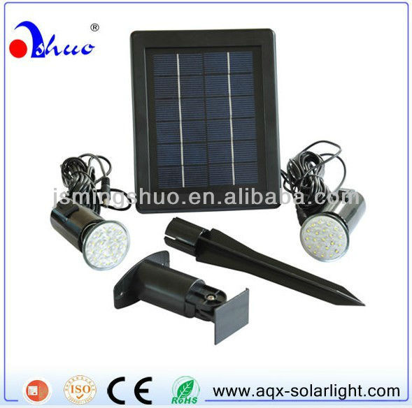 HOT! 2013 mini solar LED lighting kit (MSD 03-01-2)