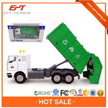 Top grade 1 50 scale diecast garbage truck toy for sale