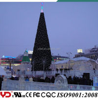 YD professional IP68 CE FCC approved outdoor christmas lights tree