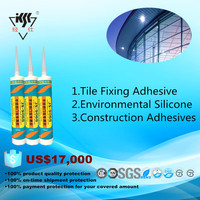 Tile Fixing Adhesive Environmental Silicone Construction Adhesives