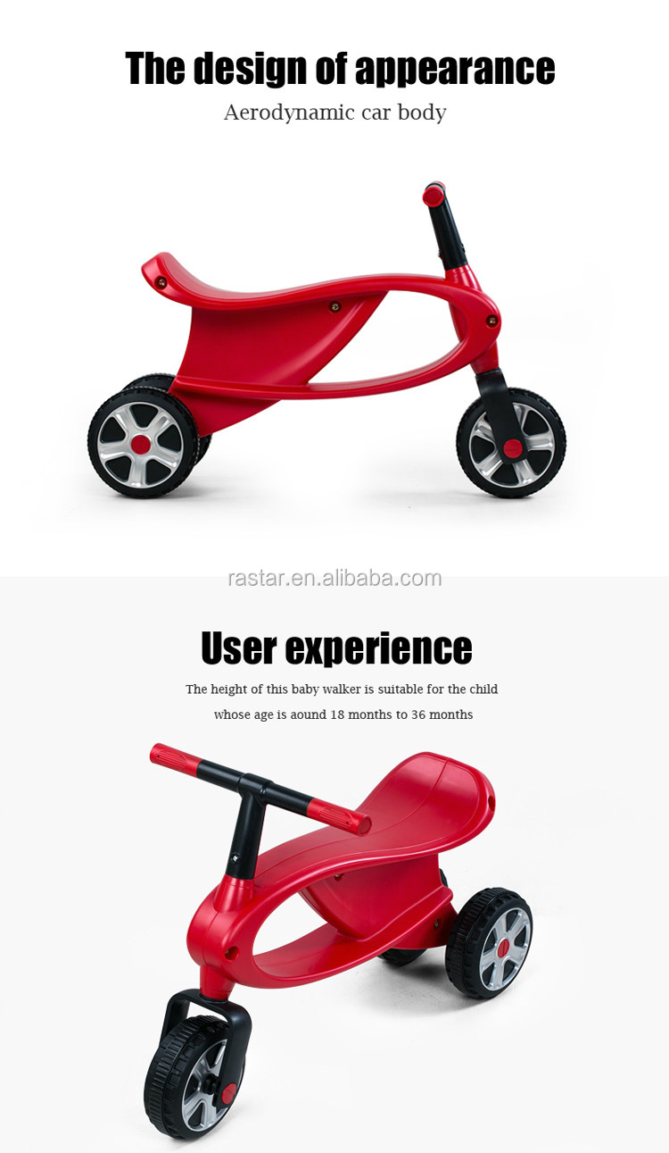 RASTAR antiskid tires easy ride on car plastic bike for children