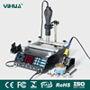"YIHUA 853AAA ""ALL IN ONE""HOT AIR REWORK SOLDERING IRON PREHEATING STATION"